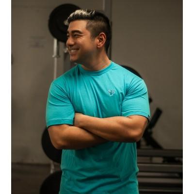 MFN Men's Classic T- Shirt - Turquoise