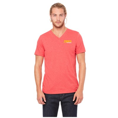 MFN Men's Premium V-Neck - Red