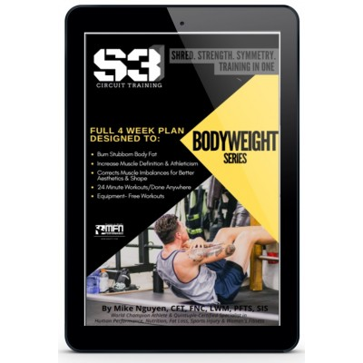 S3 4-WEEK BODYWEIGHT PROGRAM - (HOME GUIDE)