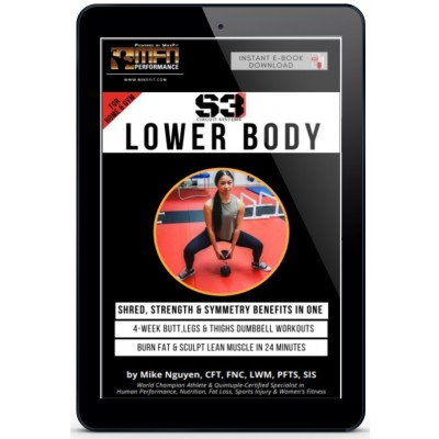MFN S3 LOWER BODY - (4-Week Ultimate Home Plan) - Unisex