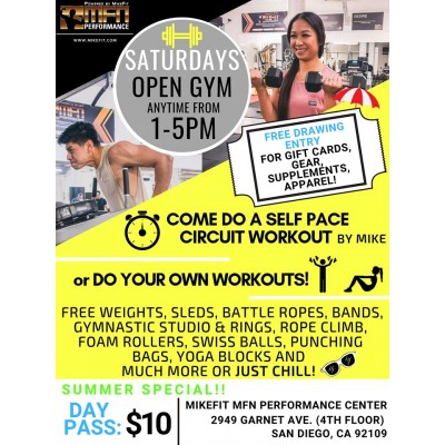 Gym Pass (Click for Hours)