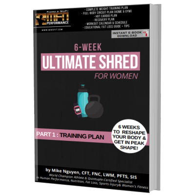 MFN WOMEN'S ULTIMATE SHRED - 6 WEEK COMPLETE TRAINING PROGRAM