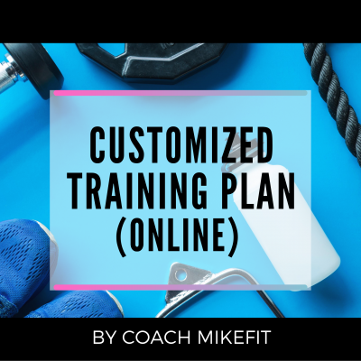 CUSTOM TRAINING PLAN (ONLINE)