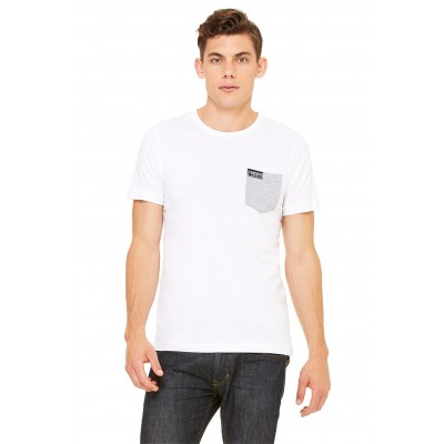 MFN Men's Pocket Shirt - White/Grey