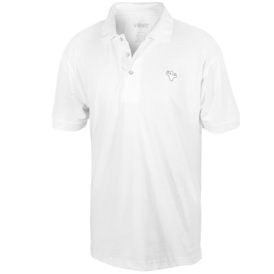 MFN Mens Polo Shirt - White
