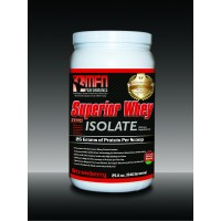 MFN 100% Natural Premium Whey Protein Isolate (1.8 lbs / 28 Servings - Strawberry)