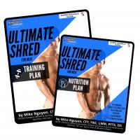 MEN'S ULTIMATE SHRED BUNDLE (BOTH Training + Nutrition Plans)