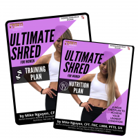 WOMEN'S ULTIMATE SHRED BUNDLE (BOTH Training + Nutrition Plan)